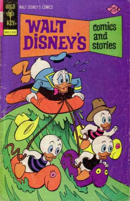 Walt Disney's Comics and Stories 421 - Gold Key - Cap - Rope - Duck - 90011-510