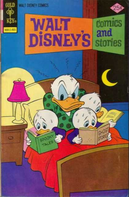 Walt Disney's Comics and Stories 424 - Joyfull Chances - Blue Night - Shadow - Open The Door - Half Moon