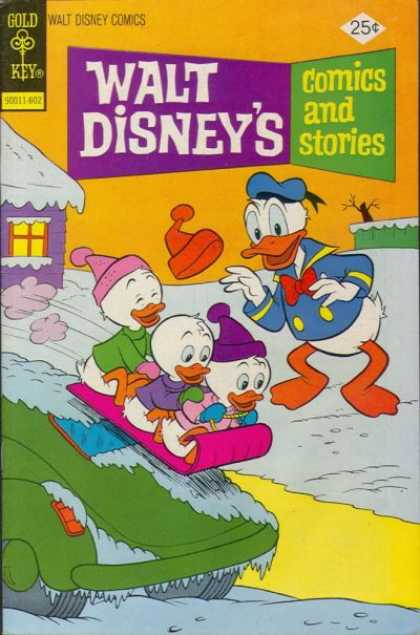 Walt Disney's Comics and Stories 425