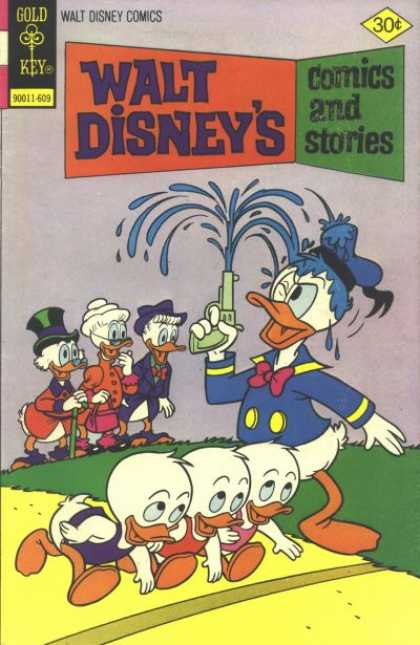 Walt Disney's Comics and Stories 432 - Blue Fire - Mischief Arms - Tickling Funny Bone - Ready For A Run - Gun Thrills