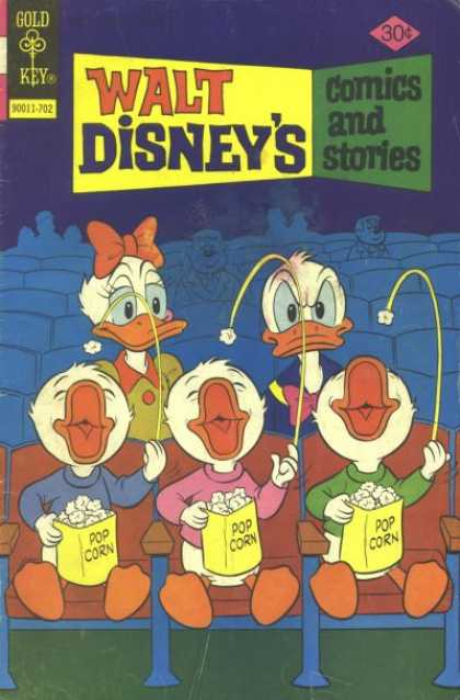 Walt Disney's Comics and Stories 437 - Gold Key - Donald Duck - Dazy - Pop Corn - Seat
