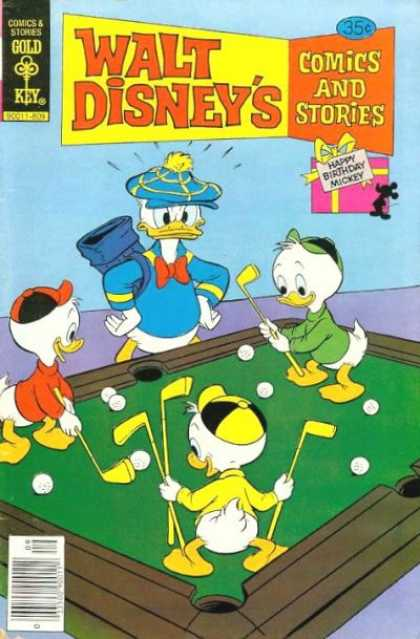 Walt Disney's Comics and Stories 456