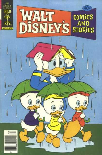 Walt Disney's Comics and Stories 463