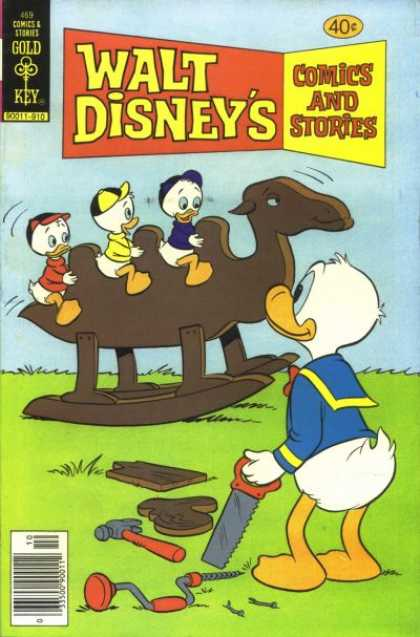 Walt Disney's Comics and Stories 469 - Cartoons - Duck - Donkey - Baby - Babies