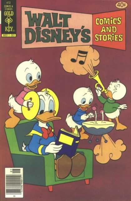 Walt Disney's Comics and Stories 472