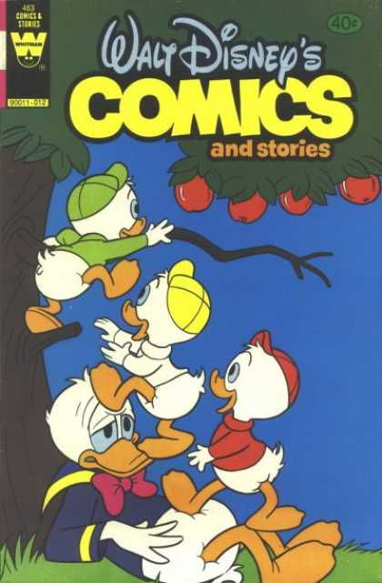 Walt Disney's Comics and Stories 483