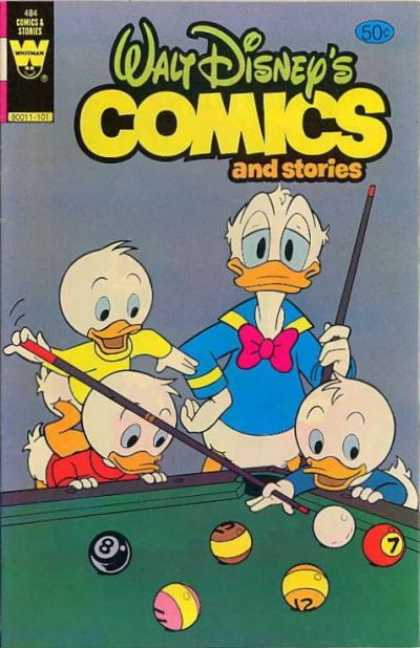 Walt Disney's Comics and Stories 484 - Ducks - Comics - Stories - Pool Table - Pool Cues