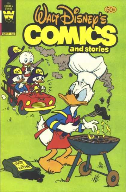 Walt Disney's Comics and Stories 486
