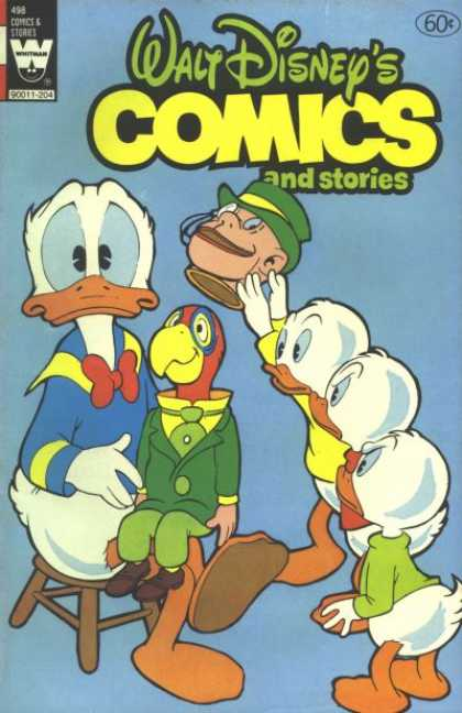 Walt Disney's Comics and Stories 498 - Duck - Donald - Parrot - Dummy - Red Bow