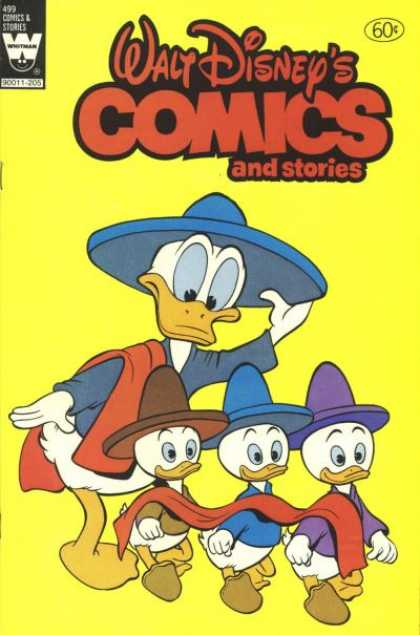 Walt Disney's Comics and Stories 499