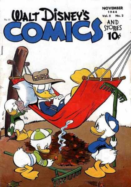 Walt Disney's Comics and Stories 50