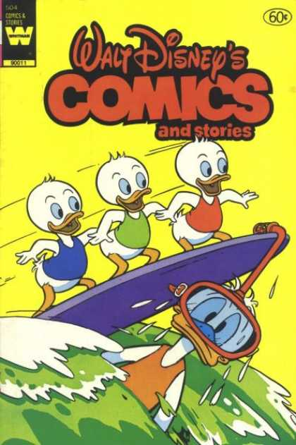 Walt Disney's Comics and Stories 504