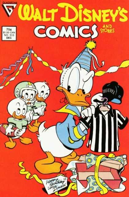 Walt Disney's Comics and Stories 513