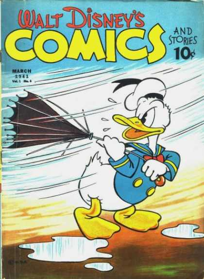 Walt Disney's Comics and Stories 6
