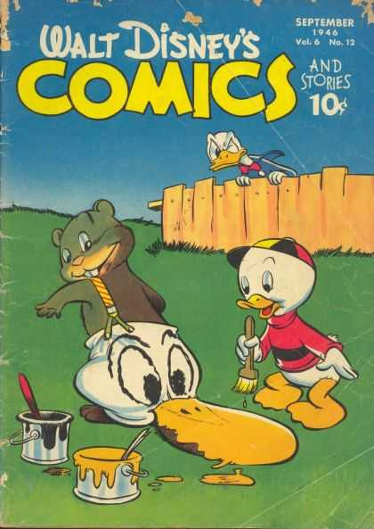 Walt Disney's Comics and Stories 72