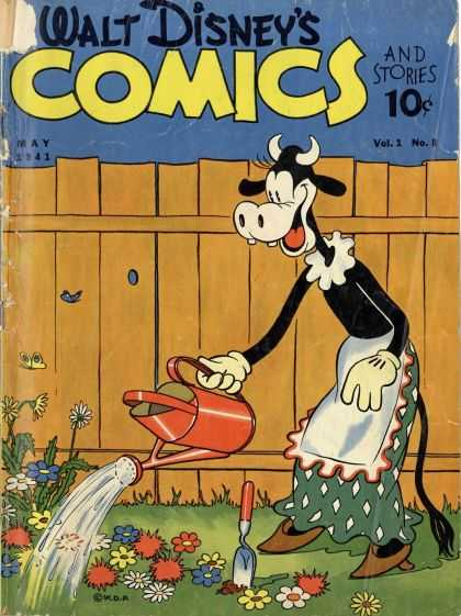 Walt Disney's Comics and Stories 8