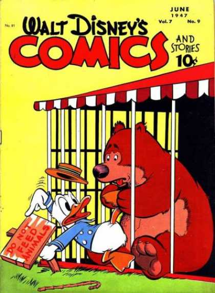 Walt Disney's Comics and Stories 81