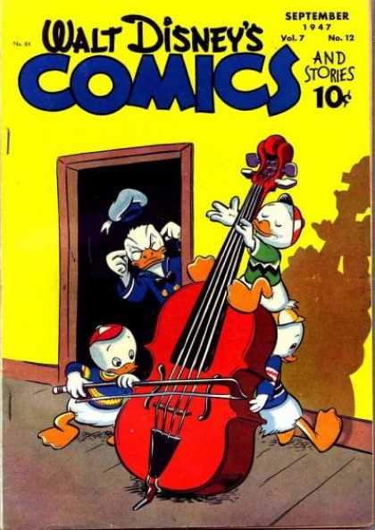 Walt Disney's Comics and Stories 84 - Huey - Dewey - Louie - Donald Duck - 1947