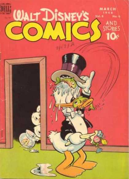 Walt Disney's Comics and Stories 90 - Donald Duck - Fish - Huey - Dewey - Louie