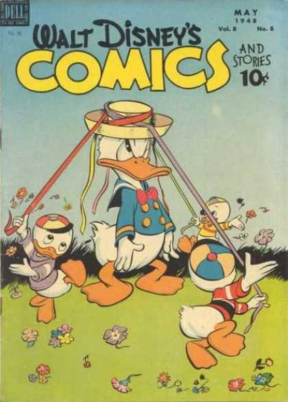Walt Disney's Comics and Stories 92 - Donald Duck - Huey - Duey - Louie - Maypole