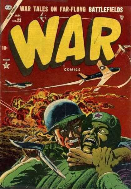War Comics 23 - Far- Flung Battlefields - Red Star - Army - Airplanes - Bombs