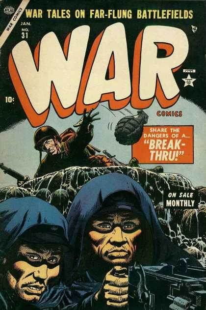 War Comics 31 - Grenade - Soldier - Battlfields - Dangers - Guns