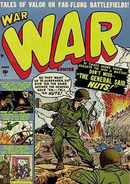 War Comics 4 - Army - Battle - Military - Explosions - Speech Bubble