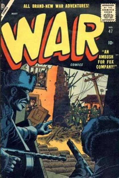 War Comics 47 - War - Guns - Soldiers - Caps - Streets
