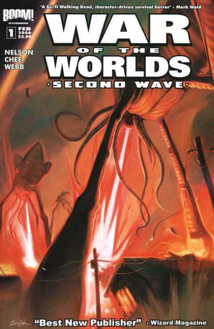 War of the Worlds: Second Wave 1 - Aliens - Power Lines - Fire - Nelson - Chee
