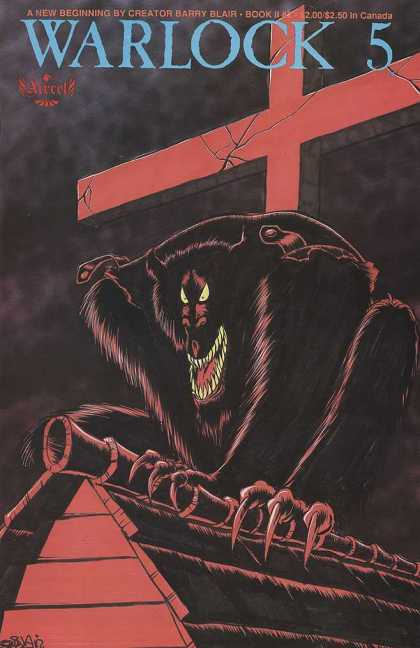 Warlock 5 2 2 - Cross - Creature - Barry Blair - Claws - Rooftop