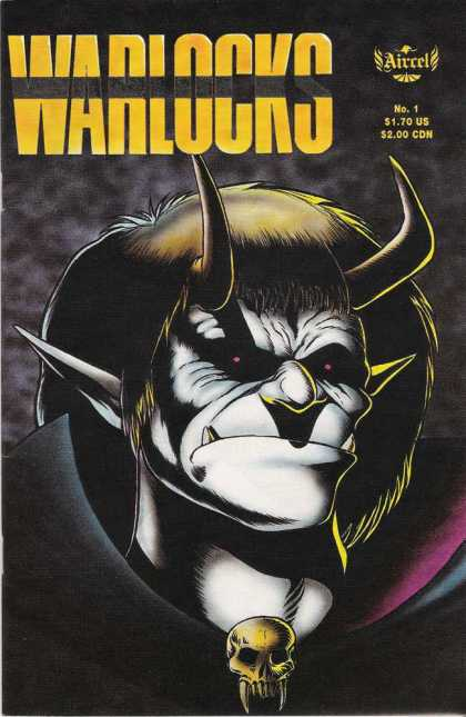 Warlocks 1 - Horns - Red Eye - Skull - Angry Face - Teeth