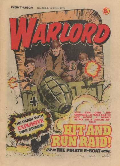 Warlord (Thomson) 200 - Every Tuesday - Explosive - Hit And Run Raid - No200 - July