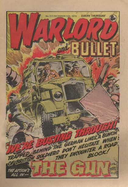 Warlord (Thomson) 221 - Vehicle - Armored - Speeding - Barricade - Enemy
