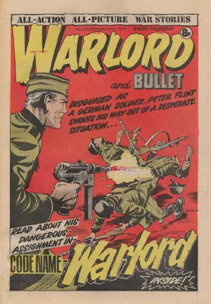 Warlord (Thomson) 227 - Undercover - War - Agent - Spy - Identity