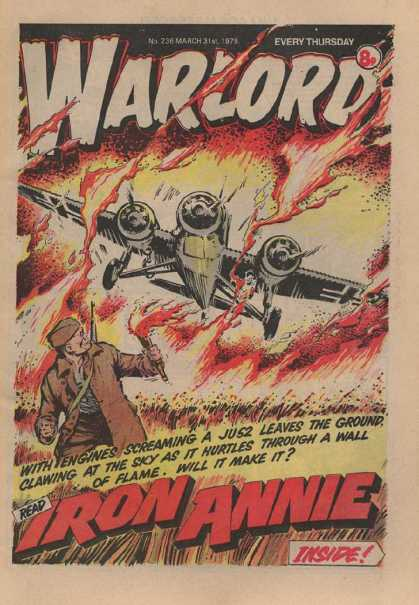 Warlord (Thomson) 236 - Plane - Fire - Soldier - Torch - Every Thursday