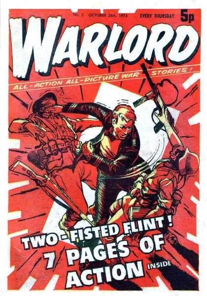 Warlord (Thomson) 5 - All Action - All Picture - War Stories - Guns - Millitary