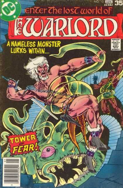 Warlord 10 - Tower Of Fear - A Nameless Monster Lurks Within - Swoed - Fighting Schen - Gun - Mike Grell