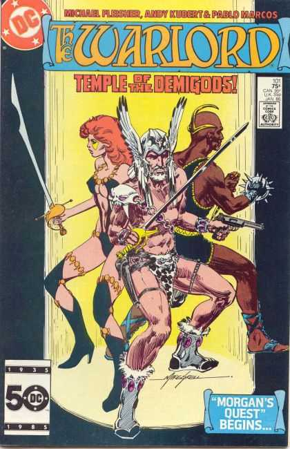 Warlord 101 - Mike Grell