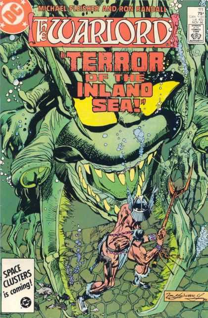 Warlord 111 - Dc - Dc Comics - Monster - Sea Monster - The Warlord