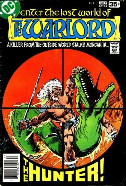 Warlord 13 - Lost World - Killer - Hunter - Sword - Serpent - Mike Grell