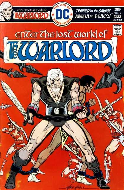 Warlord 2 - Warlord - Dc Comics - Sword And Sorcery - Travis Morgan - Arena Of Death - Bart Sears, Mike Grell