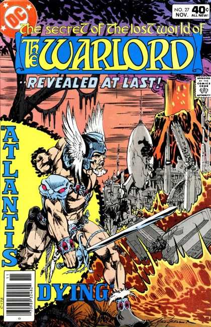 Warlord 27 - Revealed At Last - The Secret Of The Lost World - Atlantis Dying - Warrior - Sword