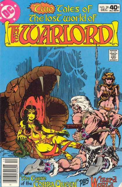 Warlord 28 - Cobra Queen - Wizard World - Prisoner - Snake Fangs - Spear