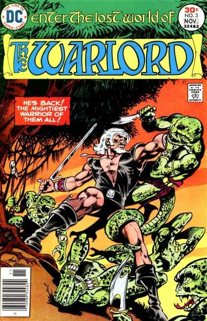 Warlord 3 - Bart Sears, Mike Grell