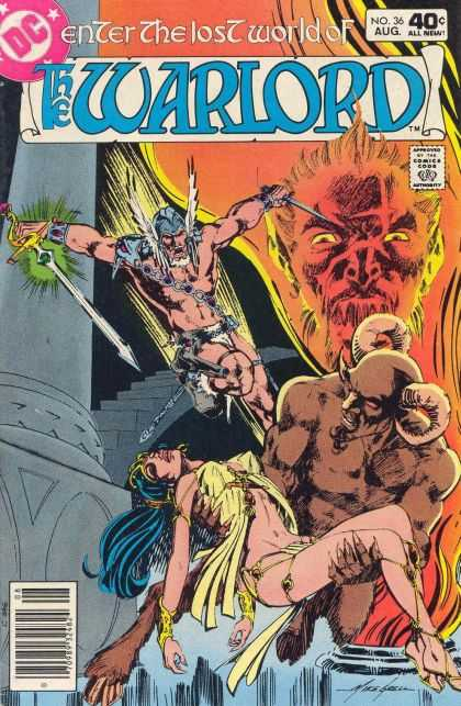 Warlord 36 - The Devil - Underworld - Rescue The Woman - Evil - Sword