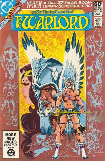 Warlord 50 - The Warlord - Superman Ii - Superwoman - The Lost World - Dc Comics