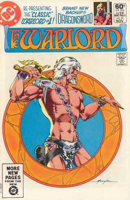 Warlord 51 - Classic Warlord 1 - Dragonsword - Sword - Brand New Backup - No 51 - Mike Grell