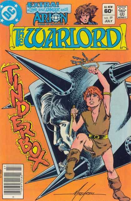 Warlord 59 - Dc - Arion - July - Tinder - Knife - Mike Grell