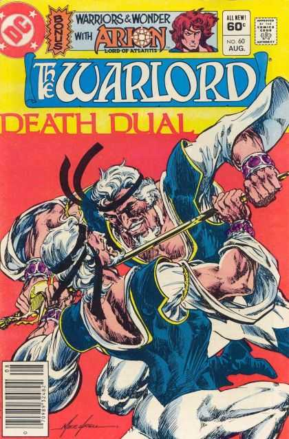 Warlord 60 - Death Duel - Warriors And Wonder - Arion Lord Of Atlantis - Sword - Fight - Mike Grell