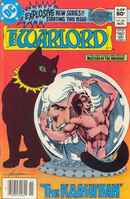 Warlord 63 - Barren Earth - Cat - Masters - Universe - Extra - Mike Grell